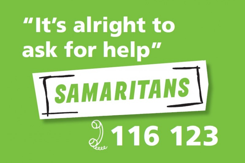 Samaritans Number 116 123