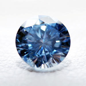 Round cut of a Memorial diamond